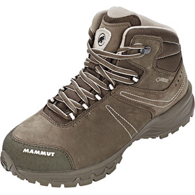 Mammut Nova III Mid GTX Shoes Damen bark-white